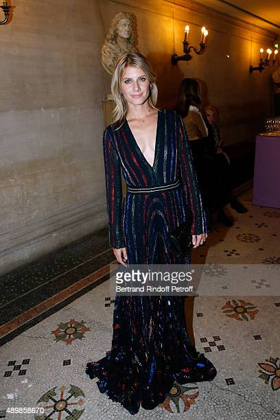 Actress Melanie Laurent attends the Ballet National de Paris Opening Season Gala at Opera Garnier on September 24 2015 in Paris France