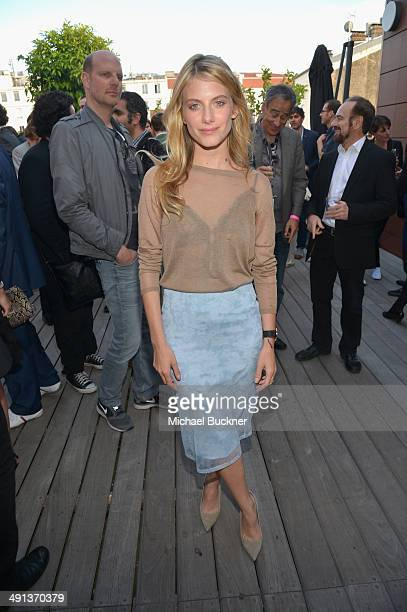 Actress Melanie Laurent attends the International Achievement in Film Party honoring Sidonie Dumas and Gaumont at the 67th Annual Cannes Film...