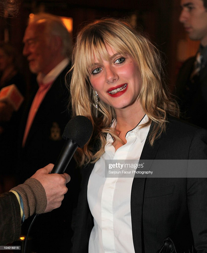 actress melanie laurent attends the love crime premiere held at picture id104018315