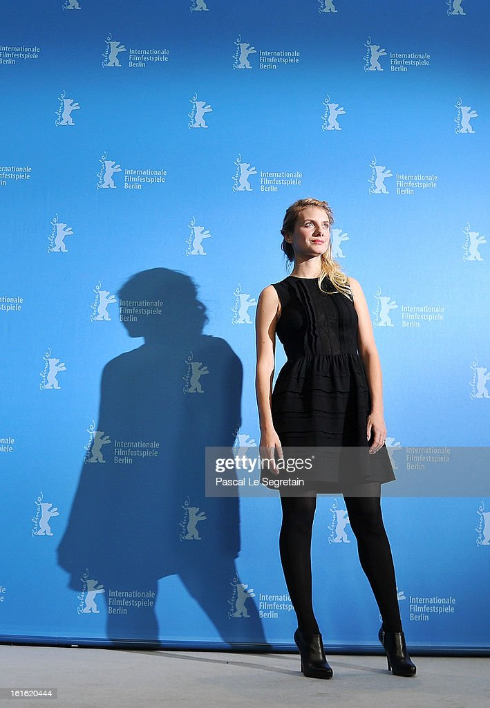 Actress <a gi-track='captionPersonalityLinkClicked' href=/galleries/search?phrase=Melanie+Laurent&family=editorial&specificpeople=2721978 ng-click='$event.stopPropagation()'>Melanie Laurent</a> attends the 'Night Train to Lisbon' Photocall during the 63rd Berlinale International Film Festival at the Grand Hyatt Hotel on February 13, 2013 in Berlin, Germany.