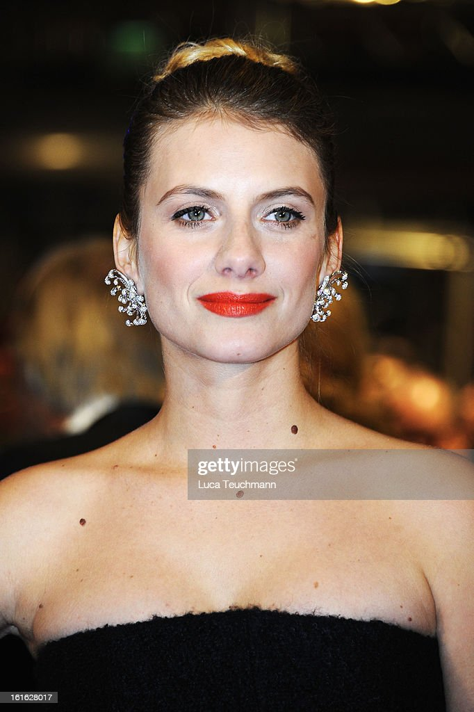 Actress Melanie Laurent attends the 'Night Train to Lisbon' Premiere during the 63rd Berlinale International Film Festival at the Berlinale Palast on February 13, 2013 in Berlin, Germany.