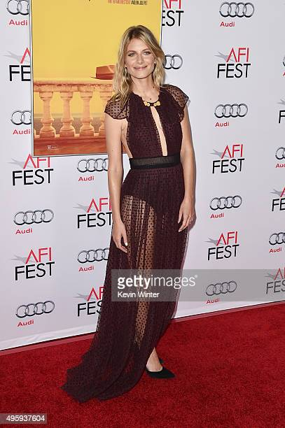 Actress Melanie Laurent attends the opening night gala premiere of Universal Pictures' 'By the Sea' during AFI FEST 2015 presented by Audi at TCL...