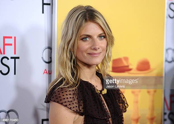 Actress Melanie Laurent attends the premiere of 'By the Sea' at the 2015 AFI Fest at TCL Chinese 6 Theatres on November 5 2015 in Hollywood California