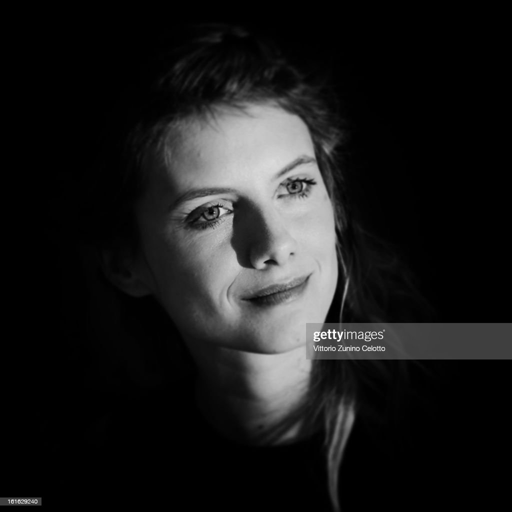 Actress <a gi-track='captionPersonalityLinkClicked' href=/galleries/search?phrase=Melanie+Laurent&family=editorial&specificpeople=2721978 ng-click='$event.stopPropagation()'>Melanie Laurent</a> during the 63rd Berlinale International Film Festival at Berlinale Palast on February 13, 2013 in Berlin, Germany.