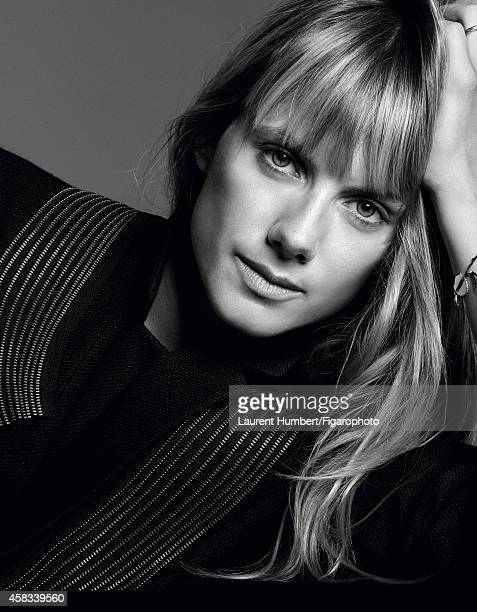 Actress Melanie Laurent is photographed for Madame Figaro on September 22 2014 in Paris France Blazer Makeup by Dior CREDIT MUST READ Laurent...