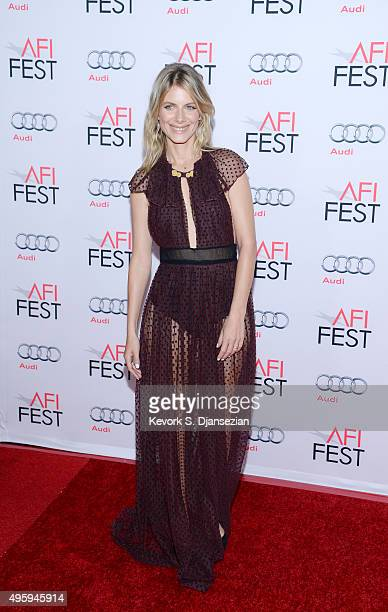Actress Melanie Laurent poses at the opening night gala premiere of Universal Pictures' 'By the Sea'' during AFI FEST 2015 presented by Audi at TCL...