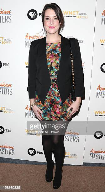 Actress Melanie Lynskey attends the Premiere Of 'American Masters Inventing David Geffen' at The Writers Guild of America on November 13 2012 in...