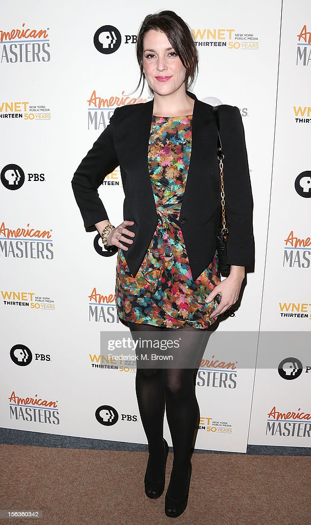 Actress Melanie Lynskey attends the Premiere Of 'American Masters Inventing David Geffen' at The Writers Guild of America on November 13, 2012 in Beverly Hills, California.