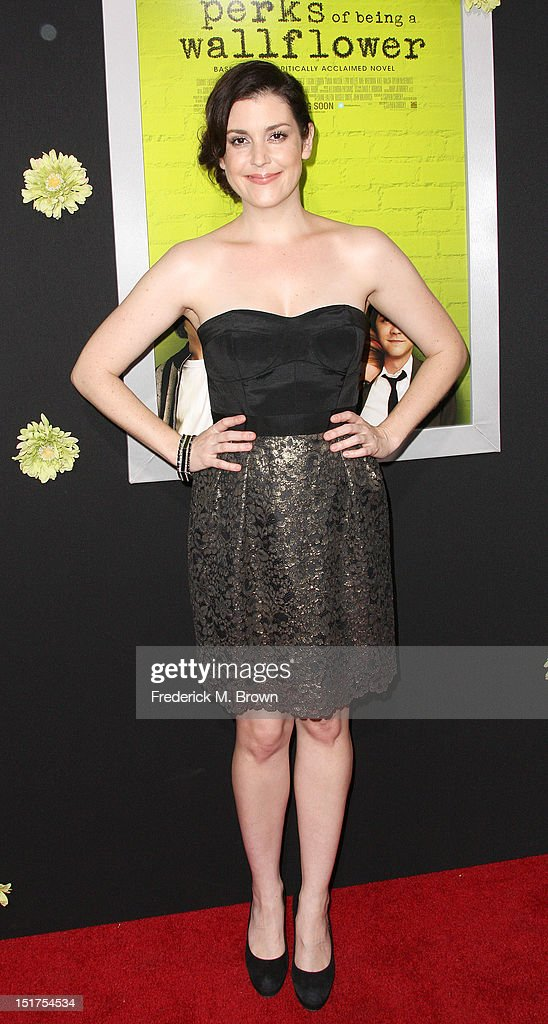 Actress Melanie Lynskey attends the Premiere Of Summit Entertainment's 'The Perks Of Being A Wallflower' at the Arclight Cinerama Dome on September 10, 2012 in Hollywood, California.