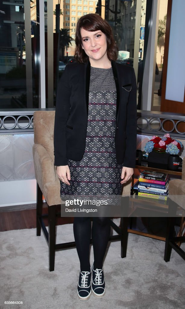 Actress Melanie Lynskey visits Hollywood Today Live at W Hollywood on February 16, 2017 in Hollywood, California.