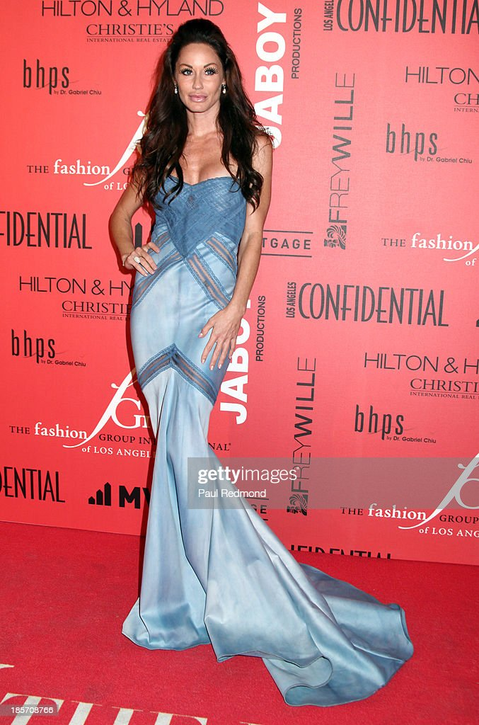 Actress Melanie Marden arrives at FGILA's 5th Annual Designer & The Muse hosted by Kathy Hilton at Mr. C Beverly Hills on October 23, 2013 in Beverly Hills, California.