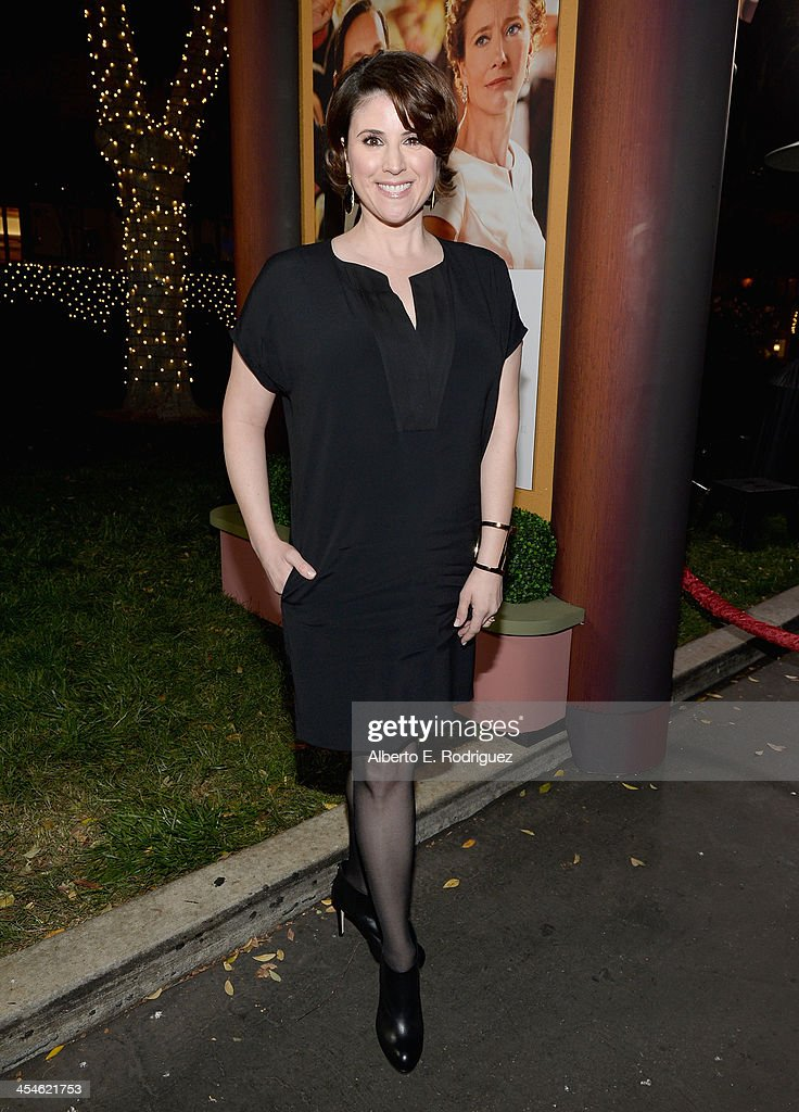 Actress Melanie Paxson attends the U.S. Premiere Of Disney's 'Saving Mr. Banks' at Walt Disney Studios on December 9, 2013 in Burbank, California.
