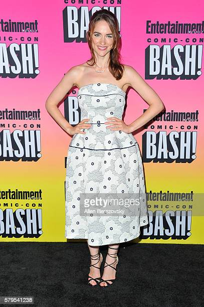 Actress Melanie Scrofano attends Entertainment Weekly's Annual ComicCon Party 2016 at Float at Hard Rock Hotel San Diego on July 23 2016 in San Diego...