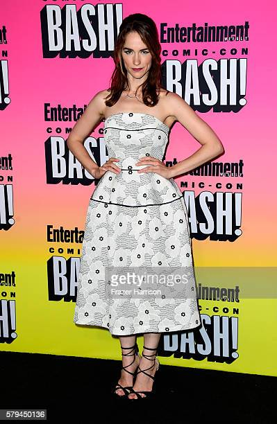 Actress Melanie Scrofano attends Entertainment Weekly's ComicCon Bash held at Float Hard Rock Hotel San Diego on July 23 2016 in San Diego California...