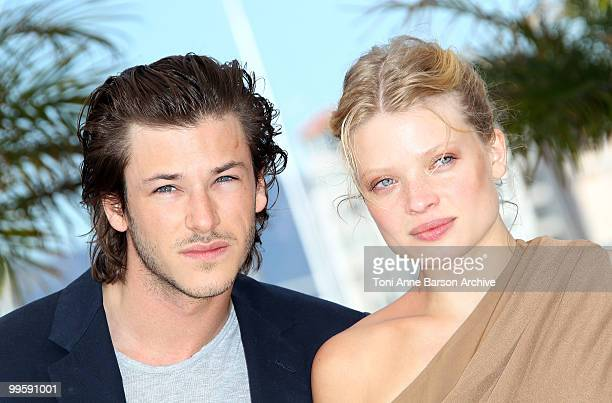 Actress Melanie Thierry and actor Gaspard Ulliel attend the 'The Princess Of Montpensier' Photo Call held at the Palais des Festivals during the 63rd...