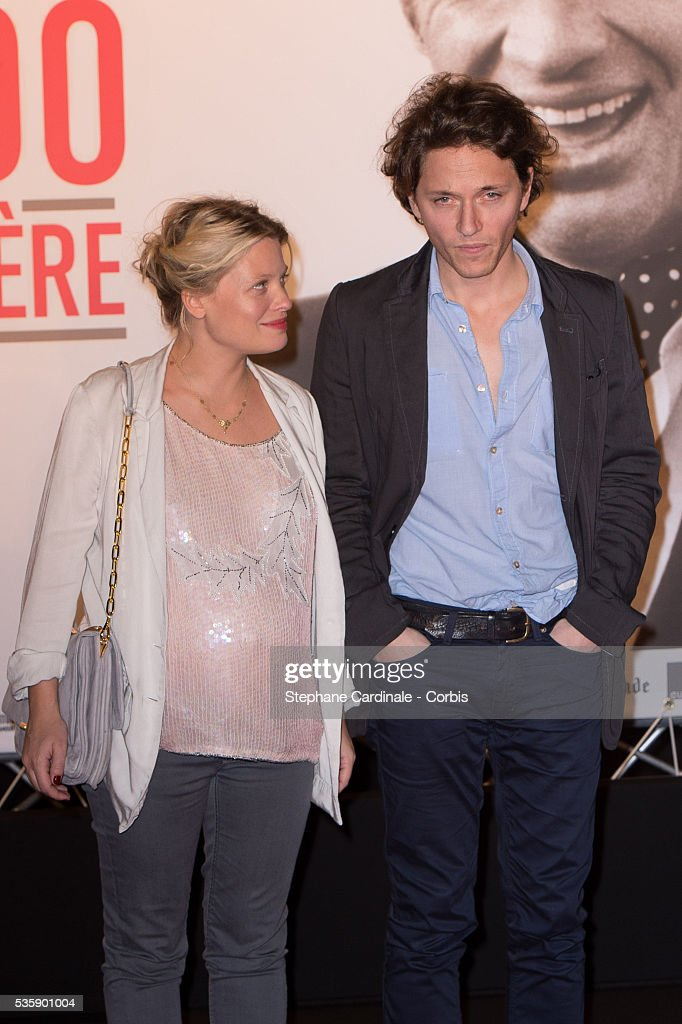 Actress Melanie Thierry and singer Raphael attend the Tribute to Jean Paul Belmondo and Opening Ceremony of the Fifth Lumiere Film Festival, in Lyon.