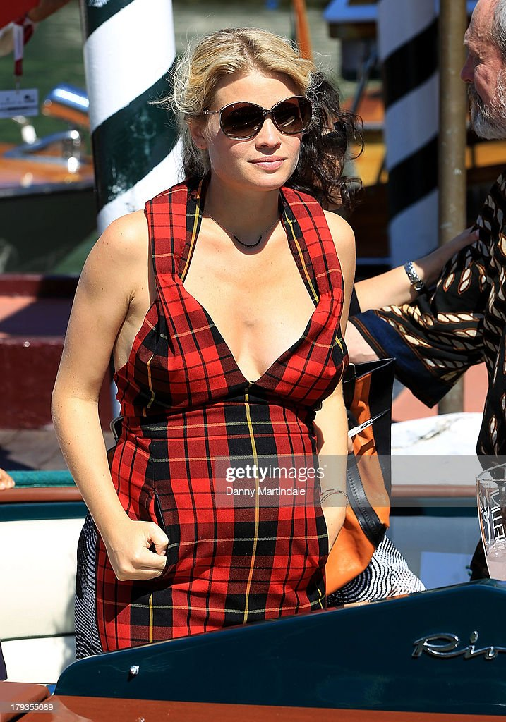 Actress Melanie Thierry attends day 6 of the 70th Venice International Film Festival on September 2, 2013 in Venice, Italy.