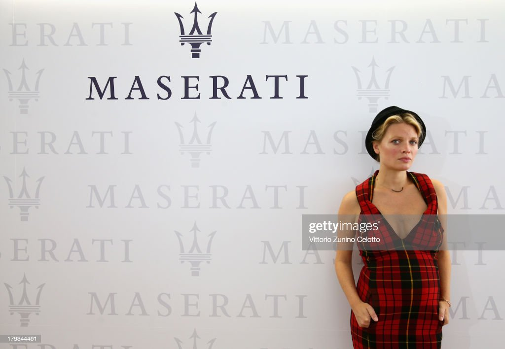 Actress Melanie Thierry attends the 70th Venice International Film Festival at Terrazza Maserati on September 2, 2013 in Venice, Italy.
