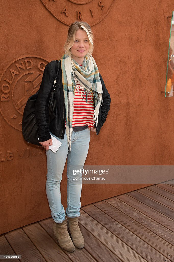 Celebrities At French Open 2014 : Day 5