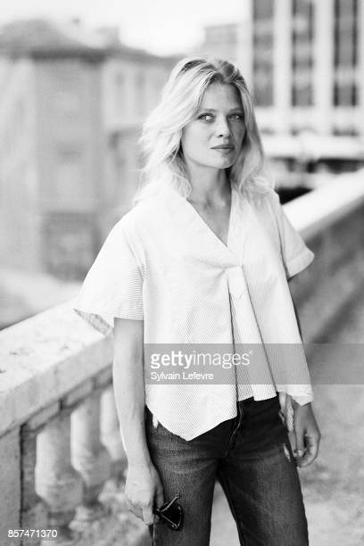 Actress Melanie Thierry is photographed for Self Assignment on August 27 2017 in Angouleme France