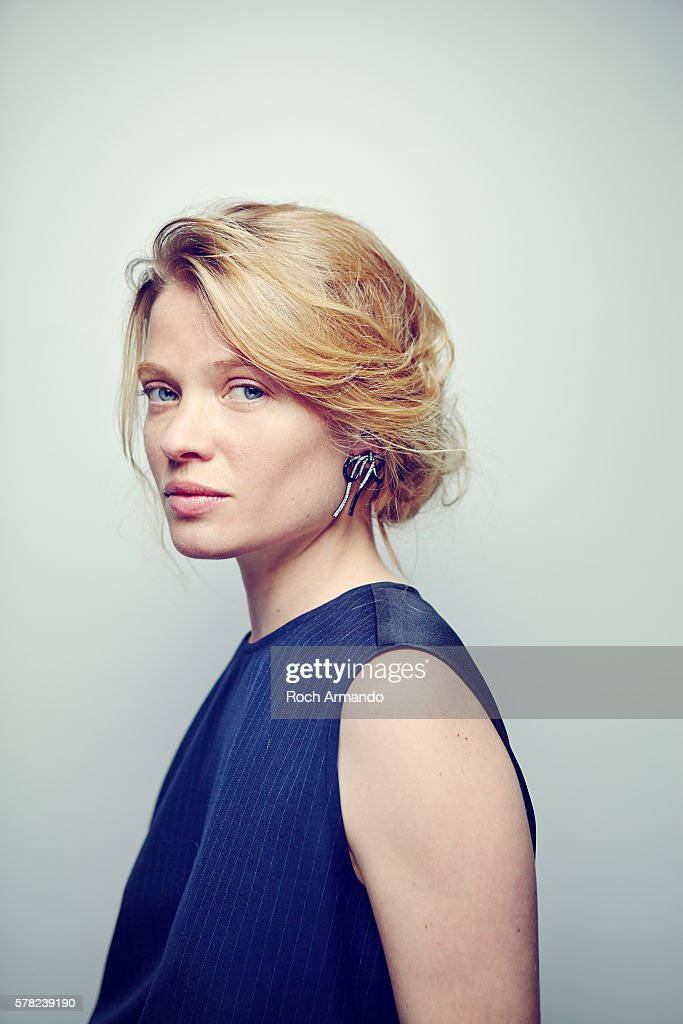 Actress Melanie Thierry is photographed for Self Assignment on June 21, 2015 in Cabourg, France.