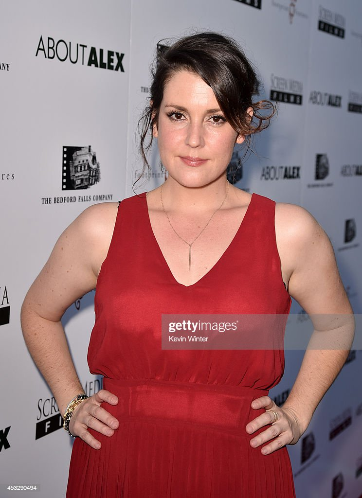 Actress Melenie Lynskey arrives at the premiere of 'About Alex' at the Arclight Theatre on August 6, 2014 in Los Angeles, California.