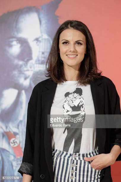 Actress Melina Matthews attends the 'El Jugador de Ajedrez' photocall at Princesa cinema on April 24 2017 in Madrid Spain