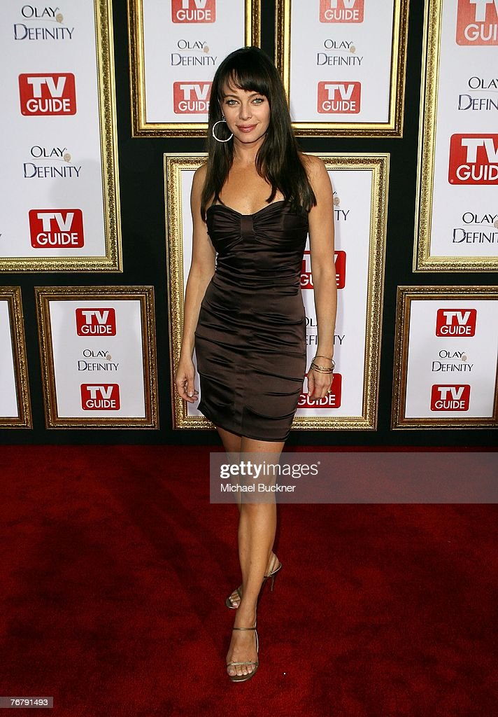 Actress Melinda Clarke arrives at TV Guide's 5th Annual Emmy Party September 16, 2007 in Los Angeles.