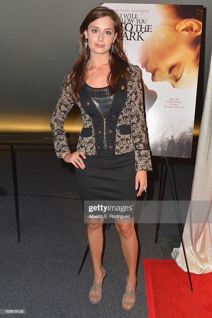 Actress Melinda Cohen attends the premiere of Epic Pictures' 'I Will Follow You Into The Dark' at the Landmark Theater on October 8, 2013 in Los Angeles, California.