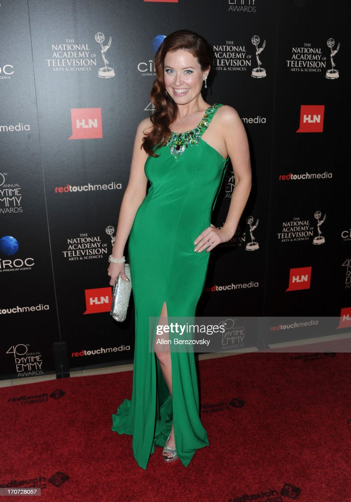 Actress Melissa Archer attends 40th Annual Daytime Entertaimment Emmy Awards at The Beverly Hilton Hotel on June 16, 2013 in Beverly Hills, California.