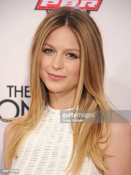 Actress Melissa Benoist arrives at the Los Angeles premiere of 'The Longest Ride' at TCL Chinese Theatre IMAX on April 6 2015 in Hollywood California