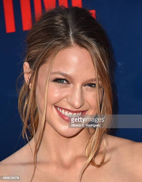 Actress Melissa Benoist attends CBS' 2015 Summer TCA party at the Pacific Design Center on August 10 2015 in West Hollywood California