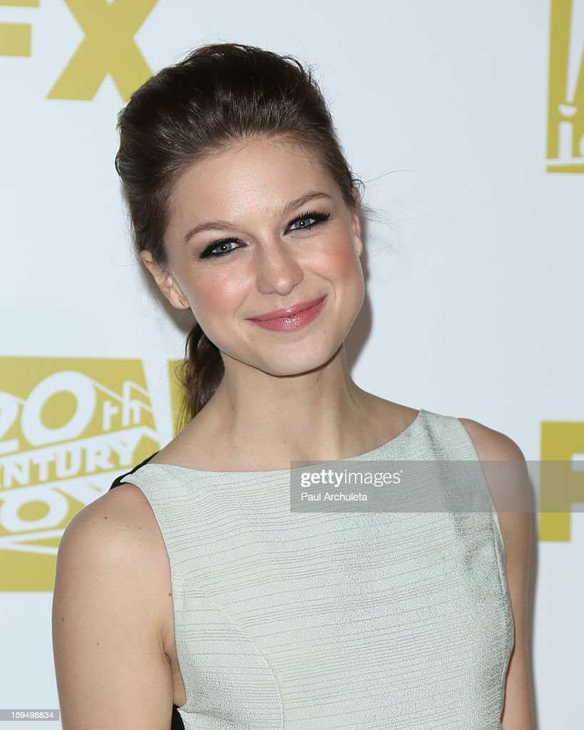 Actress Melissa Benoist attends the FOX after party for the 70th Golden Globes award show at The Beverly Hilton Hotel on January 13, 2013 in Beverly Hills, California.