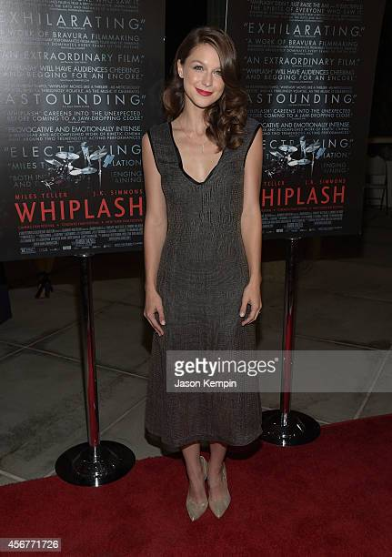 Actress Melissa Benoist attends the premiere of 'Whiplash' at Bing Theatre At LACMA on October 6 2014 in Los Angeles California