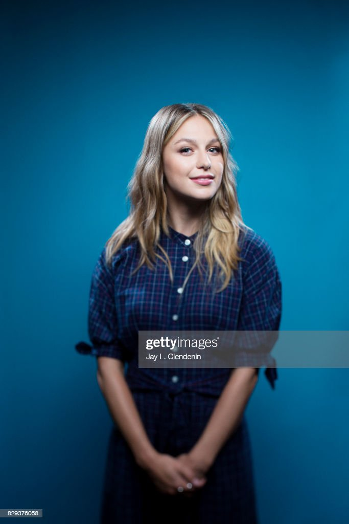 Actress Melissa Benoist, from the television series 'Supergirl,' is photographed in the L.A. Times photo studio at Comic-Con 2017, in San Diego, CA on July 22, 2017.