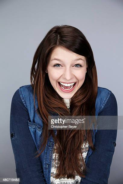 Actress Melissa Benoist is photographed for Entertainment Weekly Magazine on January 25 2014 in Park City Utah