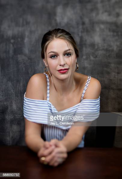 Actress Melissa Benoist of 'Supergirl' is photographed for Los Angeles Times at San Diego Comic Con on July 22 2016 in San Diego California