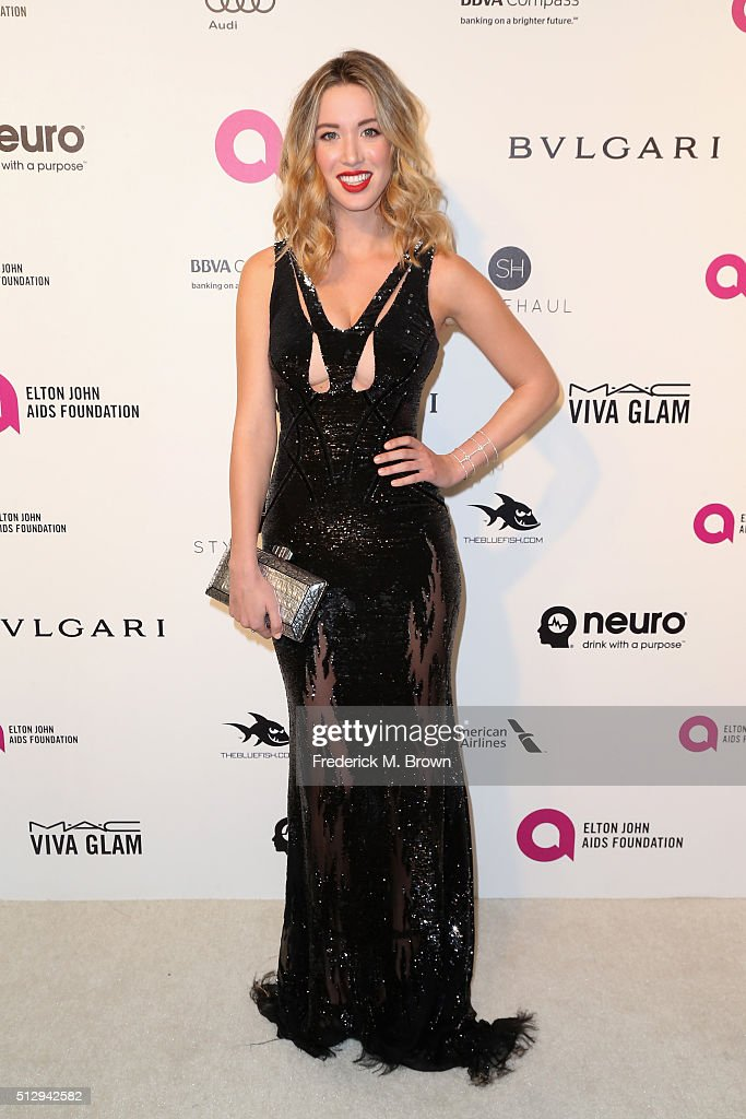 Actress Melissa Bolona attends the 24th Annual Elton John AIDS Foundation's Oscar Viewing Party on February 28 2016 in West Hollywood California