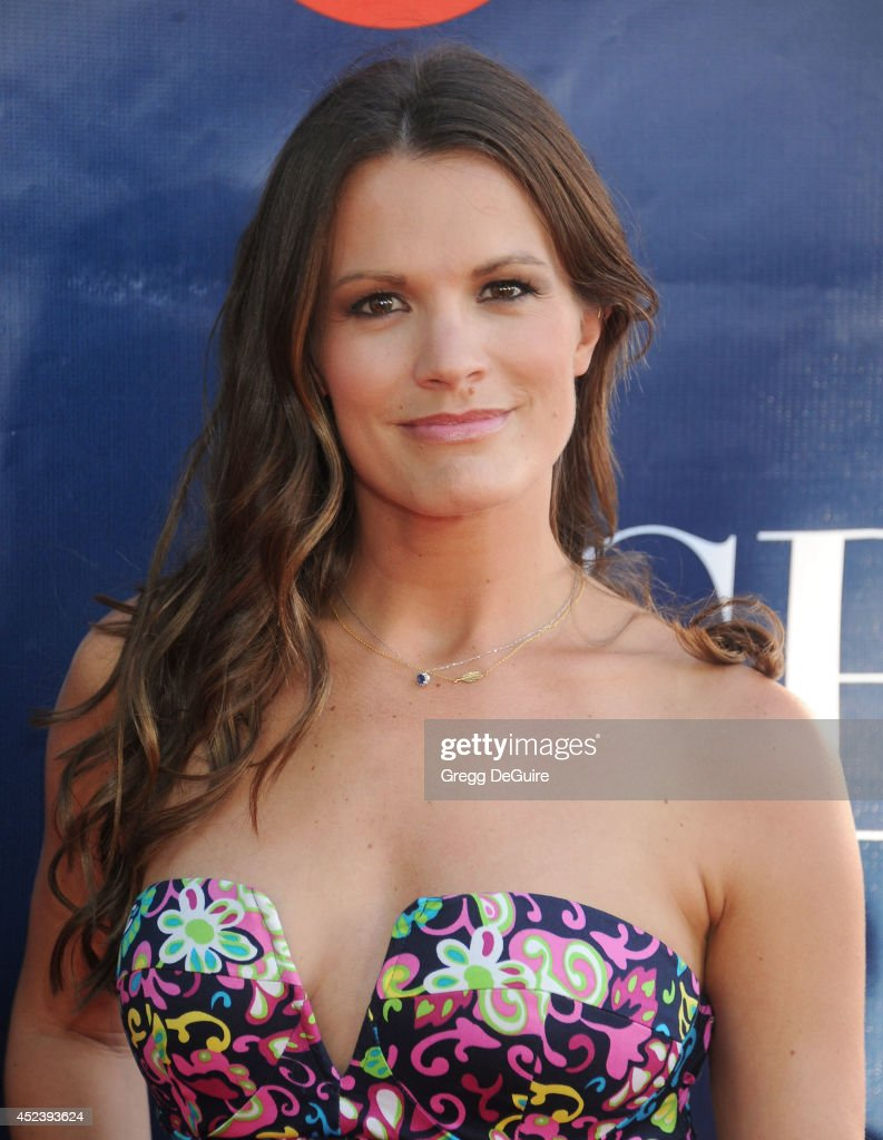 Actress <a gi-track='captionPersonalityLinkClicked' href=/galleries/search?phrase=Melissa+Claire+Egan&family=editorial&specificpeople=4164662 ng-click='$event.stopPropagation()'>Melissa Claire Egan</a> arrives at the 2014 Television Critics Association Summer Press Tour - CBS, CW And Showtime Party at Pacific Design Center on July 17, 2014 in West Hollywood, California.