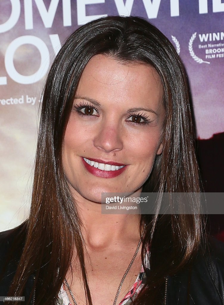 Actress <a gi-track='captionPersonalityLinkClicked' href=/galleries/search?phrase=Melissa+Claire+Egan&family=editorial&specificpeople=4164662 ng-click='$event.stopPropagation()'>Melissa Claire Egan</a> attends a screening of Logolite Entertainment & Screen Media Films' 'Somewhere Slow' at Arena Cinema Hollywood on January 31, 2014 in Hollywood, California.