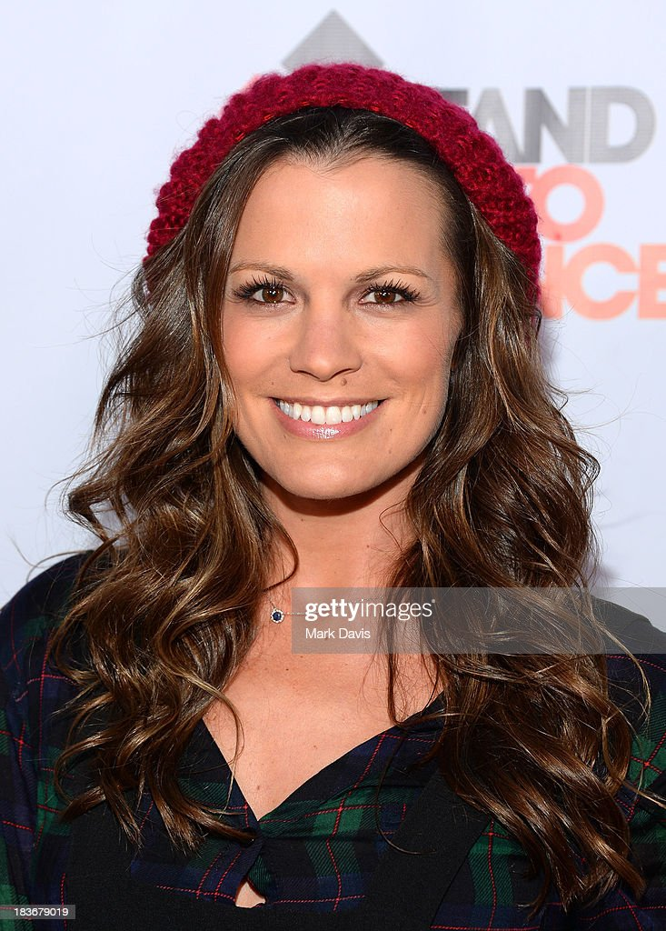 Actress <a gi-track='captionPersonalityLinkClicked' href=/galleries/search?phrase=Melissa+Claire+Egan&family=editorial&specificpeople=4164662 ng-click='$event.stopPropagation()'>Melissa Claire Egan</a> attends 'CBS Daytime After Dark' at The Comedy Store on October 8, 2013 in West Hollywood, California.