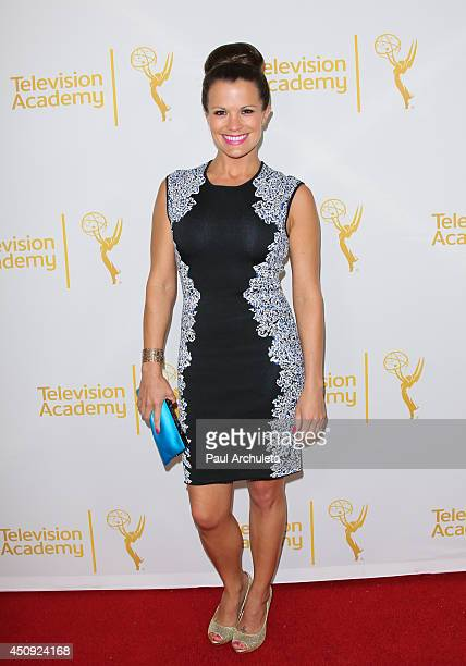 Actress Melissa Claire Egan attends the Daytime Emmy Nominee Reception at The London West Hollywood on June 19 2014 in West Hollywood California
