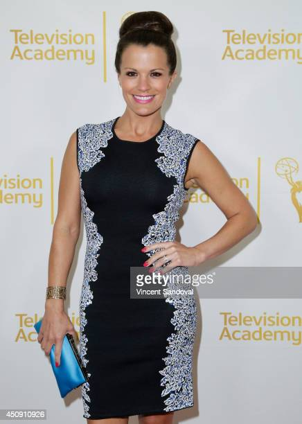 Actress Melissa Claire Egan attends the Television Academy Daytime Emmy Nominee reception at The London West Hollywood on June 19 2014 in West...