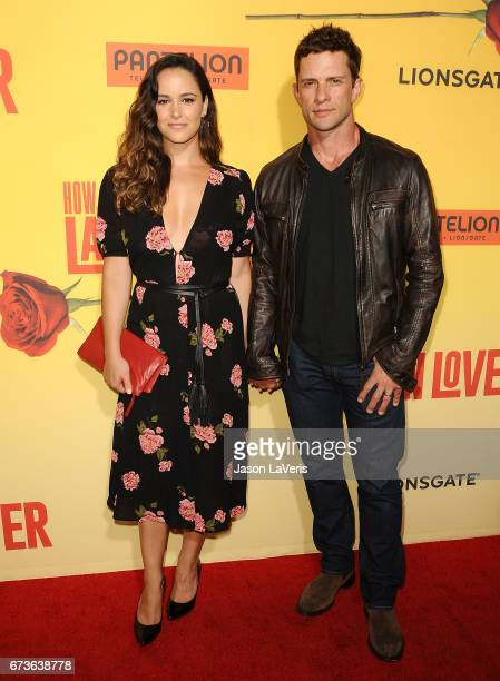 Actress Melissa Fumero and actor David Fumero attend the premiere of 'How to Be a Latin Lover' at ArcLight Cinemas Cinerama Dome on April 26 2017 in...