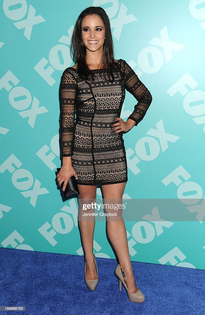 Actress Melissa Fumero attend the FOX 2103 Programming Presentation Post-Party at Wollman Rink in Central Park on May 13, 2013 in New York City.
