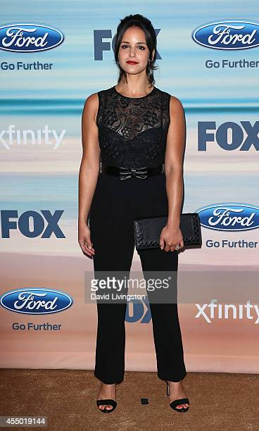 Actress Melissa Fumero attends the 2014 FOX Fall EcoCasino party at The Bungalow on September 8 2014 in Santa Monica California