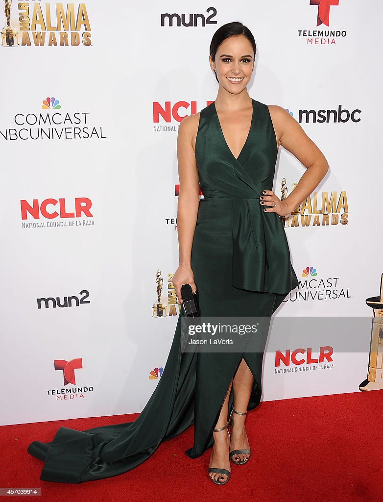 Actress Melissa Fumero attends the 2014 NCLR ALMA Awards at Pasadena Civic Auditorium on October 10 2014 in Pasadena California