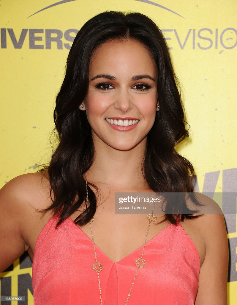Actress Melissa Fumero attends the 'Brooklyn NineNine' steakout block party and special screening event at Universal Studios Backlot on May 22 2014...