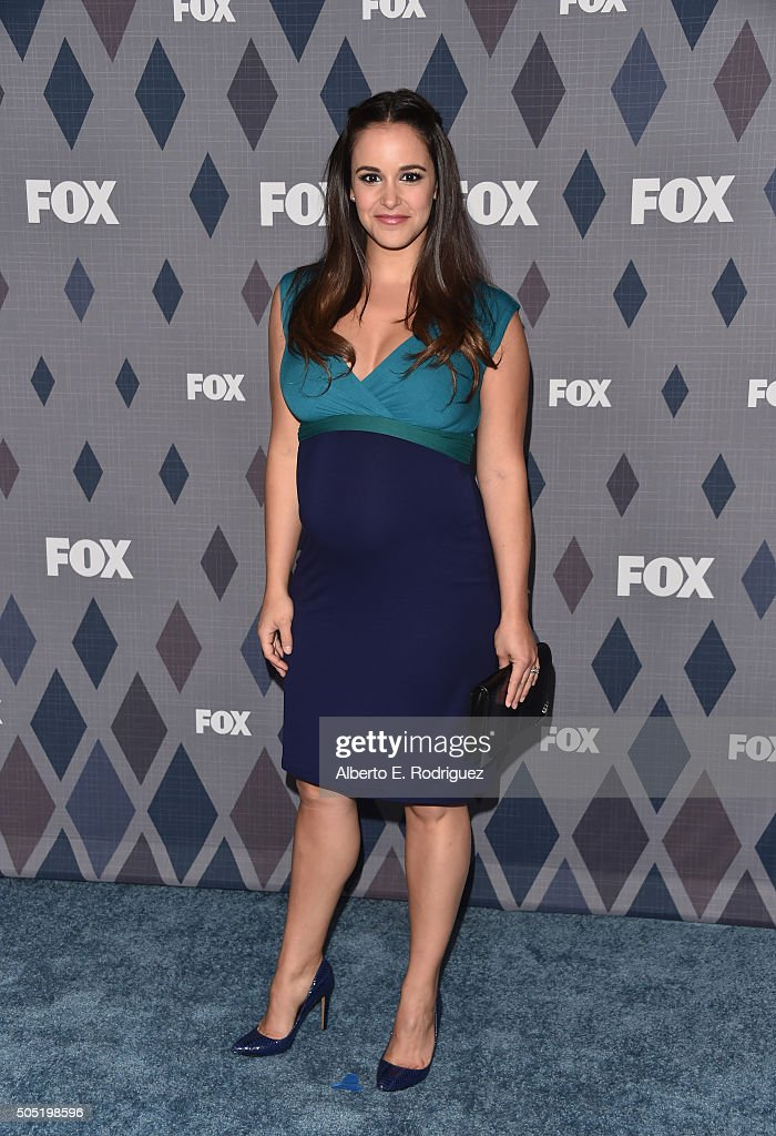 Actress <a gi-track='captionPersonalityLinkClicked' href=/galleries/search?phrase=Melissa+Fumero&family=editorial&specificpeople=5616782 ng-click='$event.stopPropagation()'>Melissa Fumero</a> attends the FOX Winter TCA 2016 All-Star Party at The Langham Huntington Hotel and Spa on January 15, 2016 in Pasadena, California.