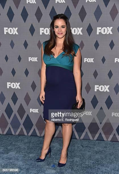 Actress Melissa Fumero attends the FOX Winter TCA 2016 AllStar Party at The Langham Huntington Hotel and Spa on January 15 2016 in Pasadena California